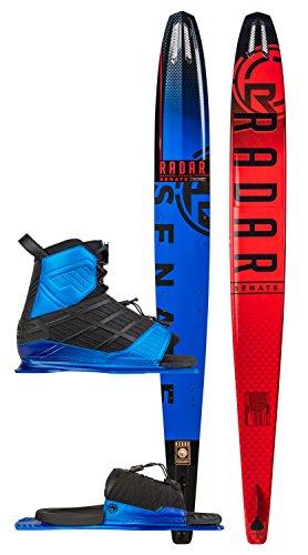 Radar Alloy Senate Slalom Blem Ski w/ Vector/ARTP Bindings Sz 67in/XL (10-14)