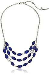 "Kenneth Cole New York ""Shell Item"" Oval Bead Multi-Row Necklace"