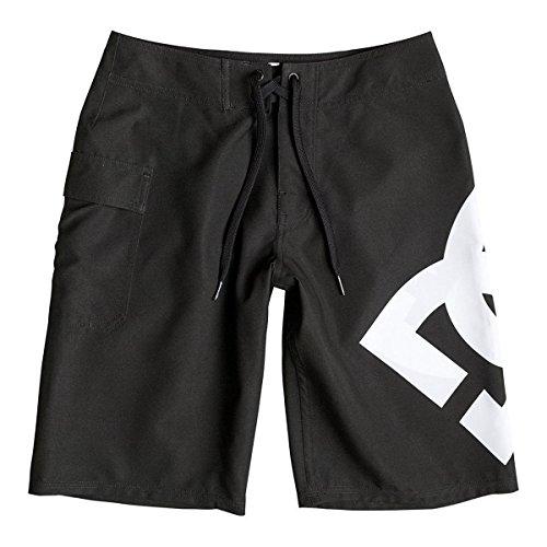 Lanai Boardshort (DC EDBBS03011 Boy's Lanai Boardshort, Black - 26/12)