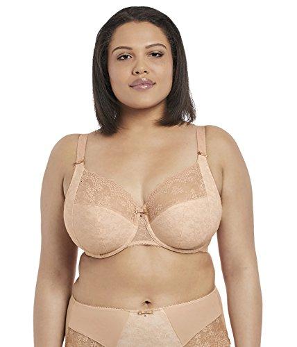 Elomi Women's Plus Size Tia Underwire Bandless Bra, Dune, 34HH (Bandless)