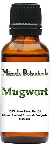 (Miracle Botanicals Mugwort Essential Oil - 100% Pure Artemisia Vulgaris - Therapeutic Grade - 30ml)
