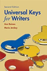 Universal Keys for Writers with 2009 MLA Update Card Hardcover