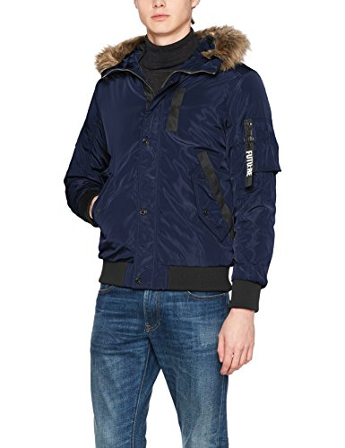JACK Hombre Fit amp; Jacket Sky para JONES one Jcocarter Azul Chaqueta Captain wgZpBqwr