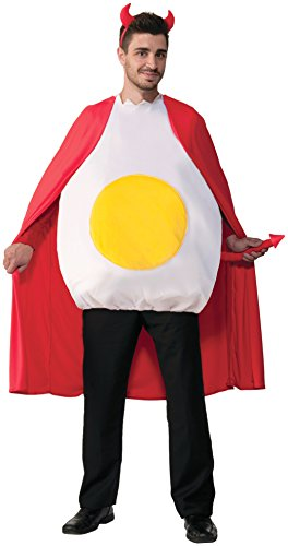 Egg Costume Women (Forum Novelties Deviled Egg, Multi, Standard)