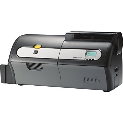 Zebra Technologies Z73-AM0C0000US00 ZXP Series 7 Card Printer, Dual-Sided, Lamination, Contact Encoder + Contactless Mifare, Magnetic Encoder, USB and Ethernet Connectivity