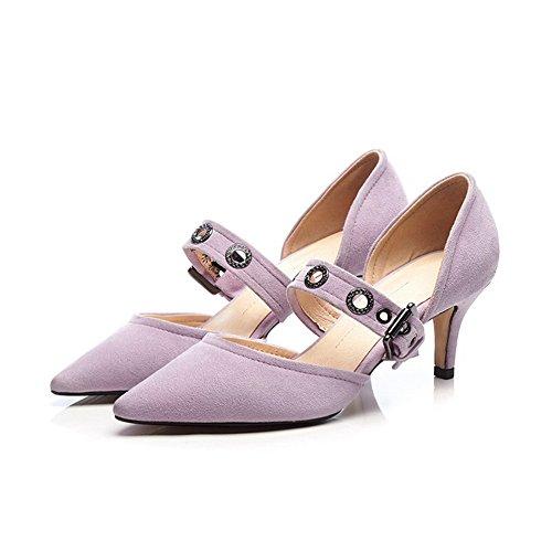 Sandales Femme Violet 1TO9 Compensées Inconnu 5BxwAqZtI