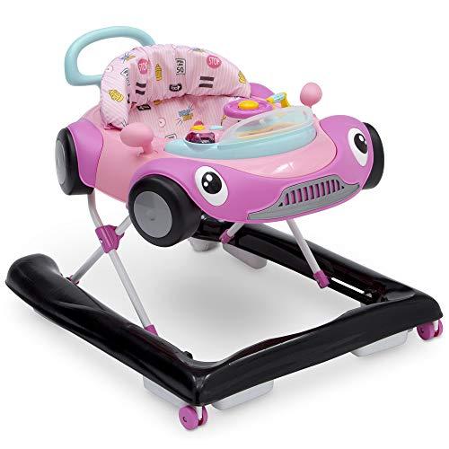 (Delta Children First Race 2-in-1 Walker, Pink)