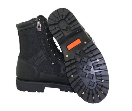 Xelement 1506 Impact Mens Black Motorcycle Biker Boots - 12