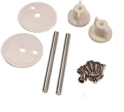 Toilet Seat Bolts Hinges Screws WC Hole Fixing Kits Nut Cover Repair Tools NEW