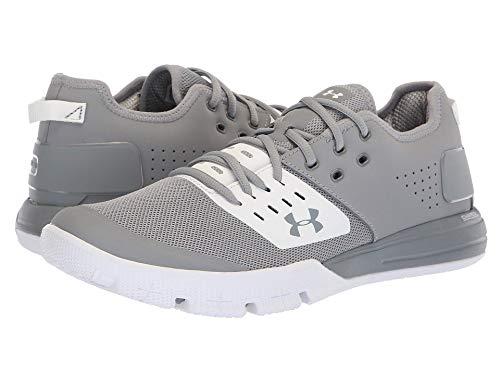 [UNDER ARMOUR(アンダーアーマー)] メンズランニングシューズ?スニーカー?靴 UA Charged Ultimate 3.0 Steel/White/Steel 8 (26cm) D - Medium