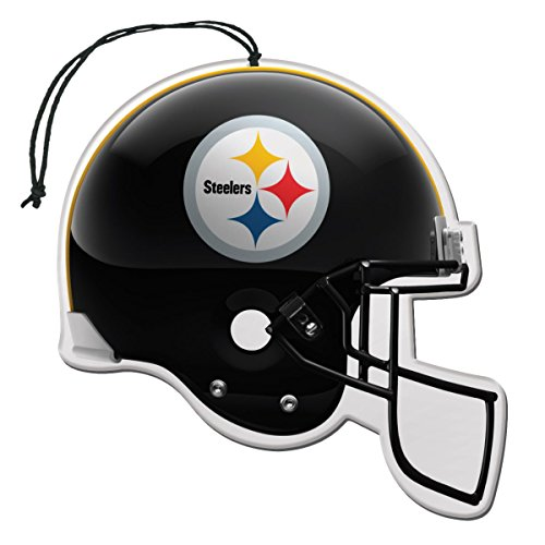 NFL Pittsburgh Steelers Auto Air Freshener, 3-Pack]()