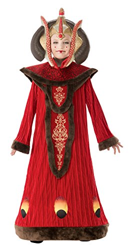 Kids Deluxe Padme Costumes (Star Wars Child's Deluxe Queen Amidala Costume, Medium)