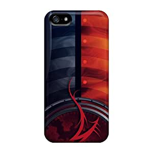 Premium Abstract Heavy-duty Protection Case For Iphone 5/5s