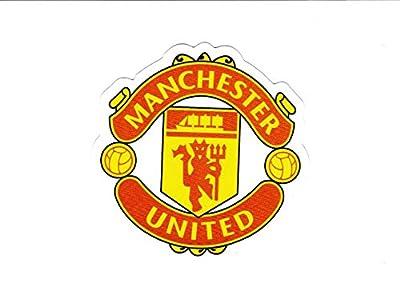 #1877 Manchester United FC logo , 7.2 cm decal sticker