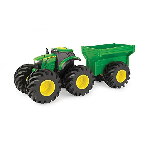 John Deere Monster Treads Tractor with (John Deere Monster Treads)