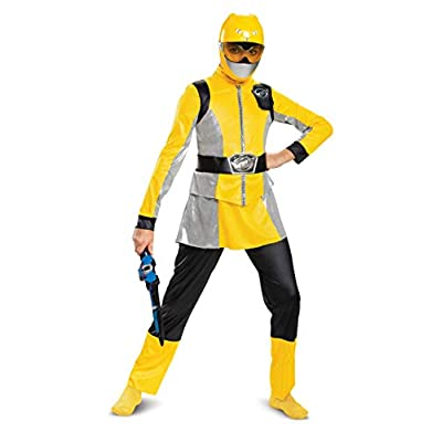 Disguise Yellow Ranger Beast Morpher Deluxe Girls' Costume: Toys & Games