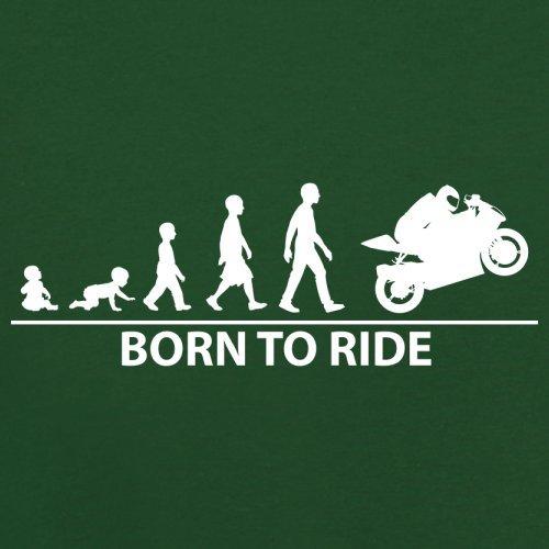 To Unisex Dressdown Vert Couleur Foncé Pull Superbike Born 12 65axnaqHw
