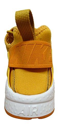 Nike Air Huarache Ultra Run Premium - Chaussures de Course - Femme - Orange (Gold Leaf/Sunset/Sail) - 41