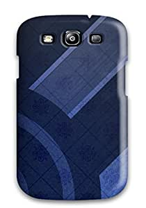High Quality Fresh Blue Abstract Case For Galaxy S3 / Perfect Case