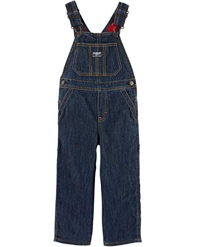 (Toddler Boy OshKosh B'gosh Lined Denim Overalls (4T))