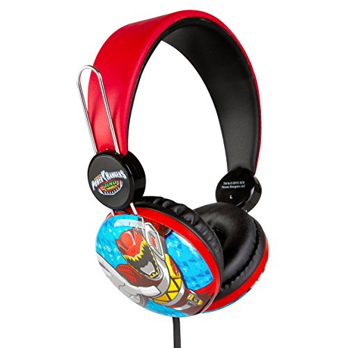 Over the Ear Kids Safe Headphones (Power Rangers)
