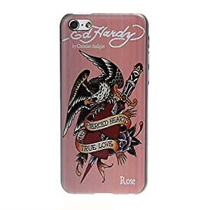 Buy Eagle and Heart Pattern Plastic Hard Case for iPhone 5C