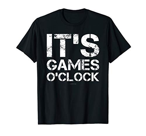 Its Games O'Clock. Funny Video Game Shirt. Video Gamer Gifts (Best Game Engine For Android Game Development)