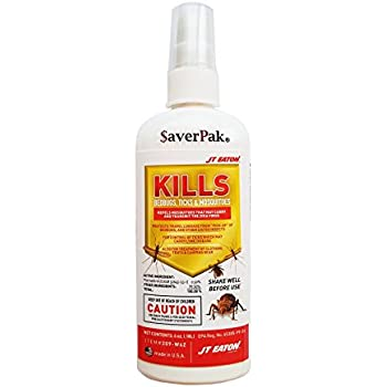 $averPak Single – 1 Six Ounce Bottle of JT Eaton Kills Bedbugs, Ticks & Mosquitoes Permethrin Clothing & Gear Treatment Pump Spray