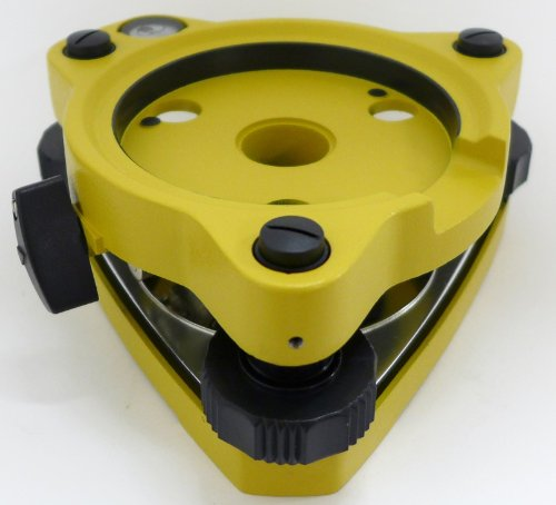 AdirPro Twist Focus Tribrach Without Optical Plummet - Yellow by AdirPro (Image #3)