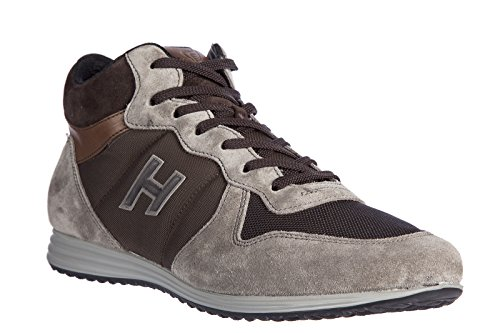 Hogan Men's Shoes high top Suede Trainers Sneakers h205 Olympia x ...