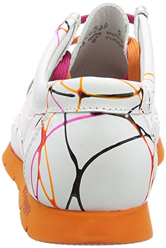 Sioux Grashopper-D-141, Women's Mocassins Multicolor (Lampone-papaya)
