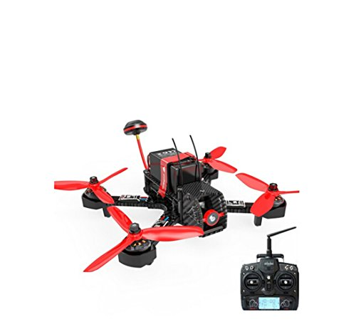 Walkera Furious 215 215mm F3 5.8G 600TVL Camera 8CH BNF Multirotor RC Toys FPV Racing Drone (with Devo 7 Transmitter)
