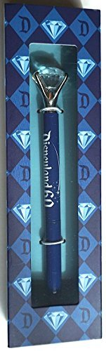 Exclusive Disneyland Resort 60th Anniversary Diamond Celebration Crystal Ink Pen