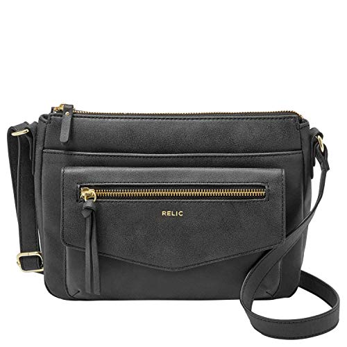 Fossil Black Handbag - 6
