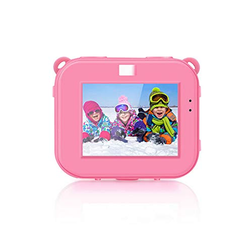 Poniu Rechargeable Camcorder 1080p Hd Waterproof Camera Kids' Electronics Developmental Baby Toys (Pink) from Poniu