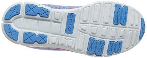 Gola Trojan - Zapatillas para deportes de exterior de sintético para niña azul - Blue (Blue/Pink)