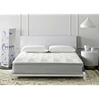 Safavieh Dream Collection Harmony White Spring Mattress, 10-Inch (Full)
