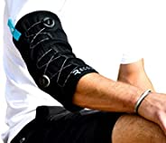 Recoup Cryosleeve, Ice + Compression Cold Sleeve, up to 1 Hour Cold, Freezer Activated, Integrated Boa? Fit System Dual-dial