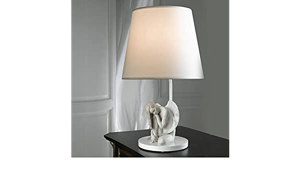 Amazon com: Lladro Wonderful Angel Lamp: Home & Kitchen