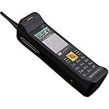 NEW Quad-band Classic Vintage Retro Touch Screen Brick Phone Dual SIM Dual Standby GSM850/900/1800/1900Mhz Mobile Cell Phone 16800Mah battery (Black)