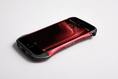 the latest 78912 fd1b8 Deff Cleave Hybrid Super Strong Bumper for iPhone 6 (Carbon Black ...