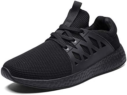 wyssutongus Men s Sneakers Ultra Lightweight Non Slip Breathable Mesh Athletic Running Walking Gym Tennis Sports Shoes