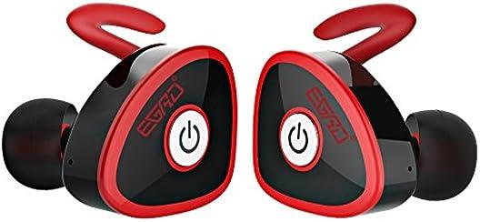 Auriculares Bluetooth Mini Mejores Estéreo Auriculares Inalambricos Deportivos con Manos Libres y Cancelación de Ruido para el iPhone, Samsung, iPad, Negocio y Más Smartphone