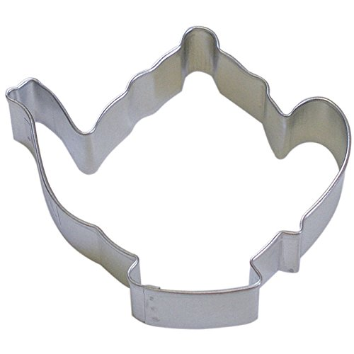Ladies Only OTBP 1 X Teapot cookie cutter 3.75 inches B1322X