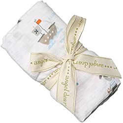 Angel Dear Bamboo Swaddle Blanket, Pirate Pup
