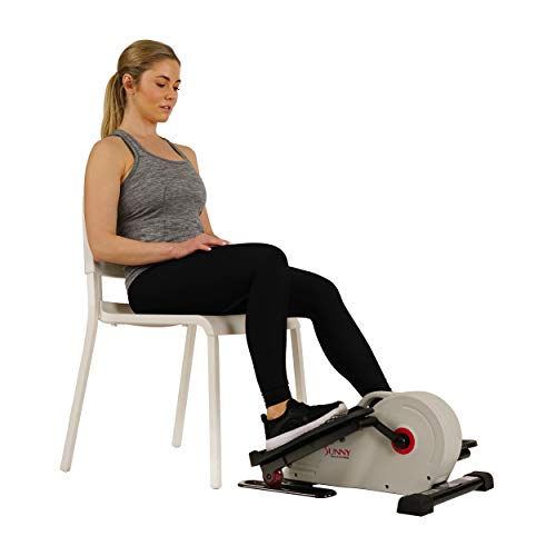 Sunny Health & Fitness Fully Assembled Magnetic Under Desk Elliptical – SF-E3872 by Sunny Health & Fitness (Image #16)