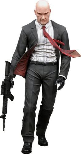 Amazon Com Player Select Blood Money Hitman Action Figure Toys Games