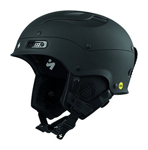 Sweet Protection Trooper II MIPS Ski and Snowboard Helmet, Dirt Black, Medium/Large