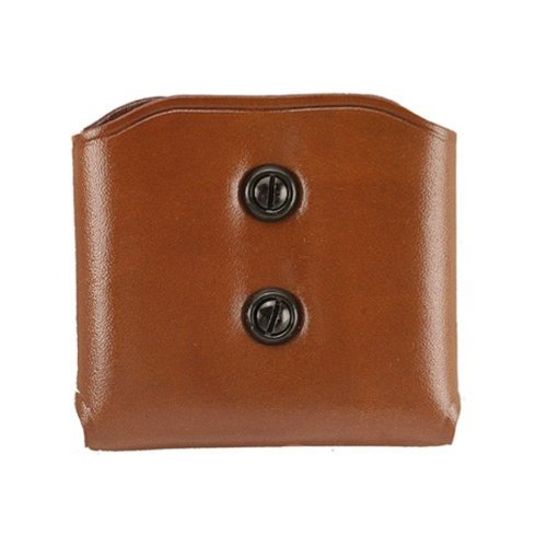 (Galco DMC Double Mag Carrier for .45, 10mm Single Column Metal Magazines (Tan, Ambi))