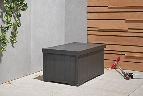TRINITY Thbgr-3108 Outdoor Deck Box, 70 gallon, Slate Gray by Trinity